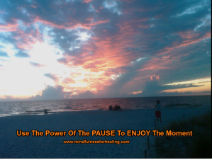 Use the power of the pause